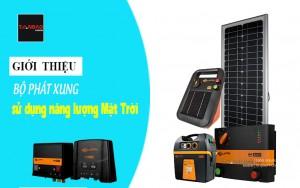 Giới thiệu bộ phát xung sử dụng năng lượng mặt trời