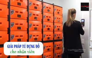 Giải pháp tủ đựng đồ cho nhân viên