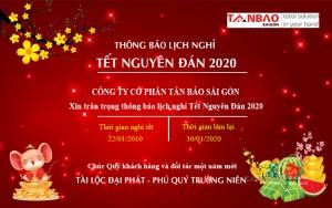 Lịch nghỉ tết nguyên đán Tân Bảo Sài Gòn
