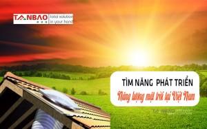 Tìm năng phát triển năng lượng Mặt trời tại Việt Nam