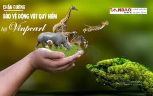 Chặn đường chung tay bảo vệ động vật quý hiếm tại Vinpearl