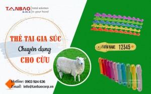 Thẻ tai chuyên dụng cho cừu