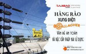 Vấn đề an toàn và việc cấp phép khi sử dụng hàng rào xung điện