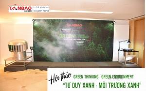 Hội thảo Tư duy xanh, môi trường xanh